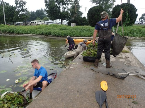 Photo Credit: FlI Water Chestnut Strike Team